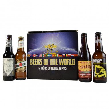 Box beer of the world 12 bieres 12 pays