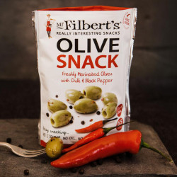 Green Olives Chili Black Pepper 65g