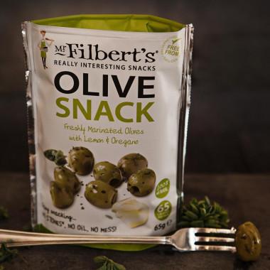 Green olives lemon & oregano 65g