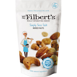 Simply Sea Salt Mixed Nuts Mr Filbert's 110g