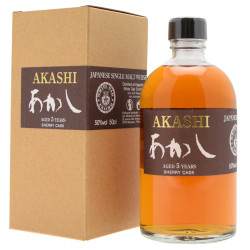 Akashi 5 ans Sherry Cask 50cl 50°