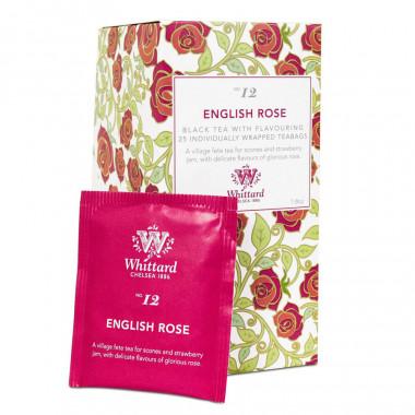 Thé English Rose Whittard 25 Sachets
