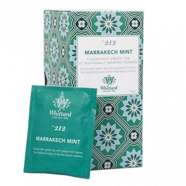 Thé Vert Marrakech Mint Whittard 25 Sachets