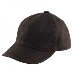 Celtic Alliance Brown Leather Baseball Cap