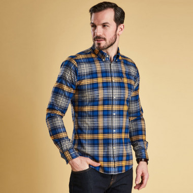 Barbour Mustard Endsleigh Shirt