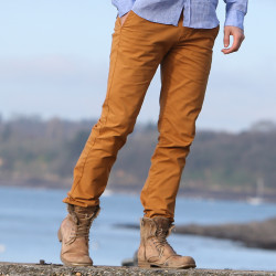 Pantalon Chino Moutarde Tom Joules