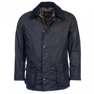 Barbour Navy Ashby Wax Jacket