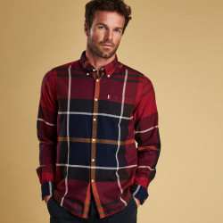 Chemise Dunoon Rouge Barbour