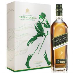 Coffret Green Label 15 ans + 2 Verres 70cl 43°