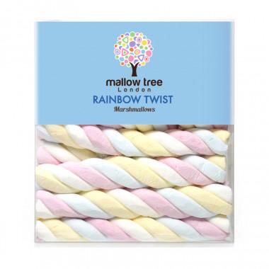 Mallow Tree Rainbow Twist Marshmallows 180g