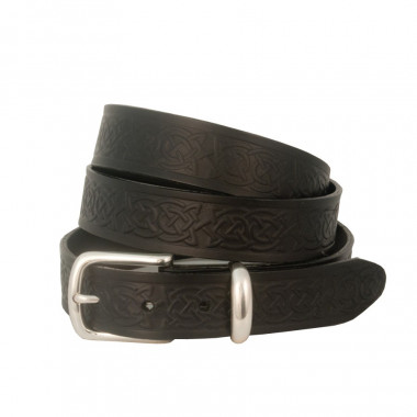 Lee River Black Celtic Belt