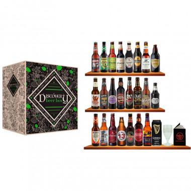Calendrier de l'Avent Discovery 24 bières Crafts + 1 verre