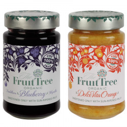 Fruit Tree Blueberry & Orange Organic Fruit 2x250g