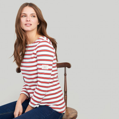 Tom Joule Red Striped Top