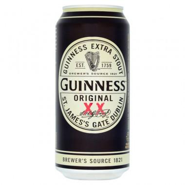 Guinness Original XX Stout 50cl 4.2°