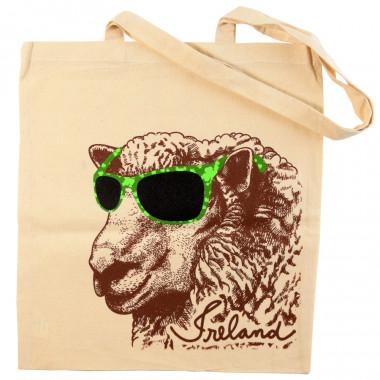 Sac Shopping Mouton Lunettes de Soleil