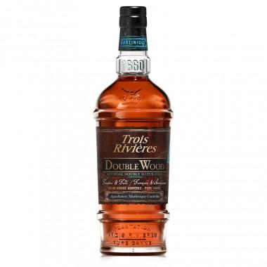 Trois rivières Double Wood Rum 70cl 43°