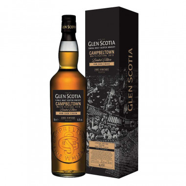 Glen Scotia 2003 Rum Cask Finish 2019 Festival Edition70cl 51.3°