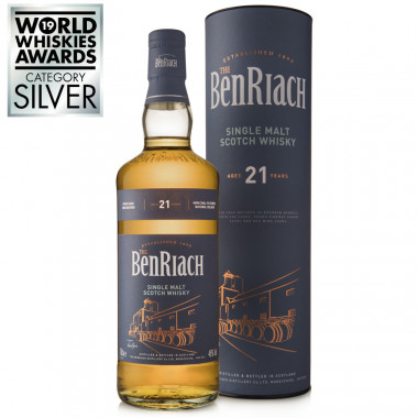 Benriach 21ans 70cl 46'