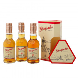 Box Glenfarclas 15 Years Old 21 Years Old And 25 Years Old 3x20cl