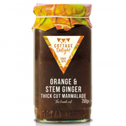 Cottage Delight Orange & Ginger Marmelade 350g