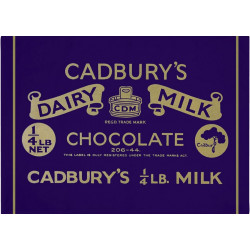 Cadbury's Dairy Milk Tea Towel 50 x 70 cm