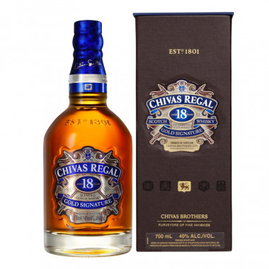 Chivas Regal 18 Years-Old 70cl 40'