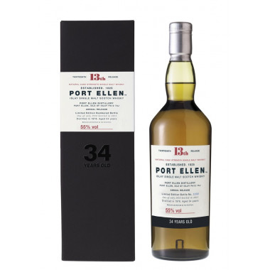 Port Ellen 34 Years Old 1978 13th Release 70cl 55°