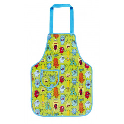 Children Monster Apron (pvc) 57 x 42 cm