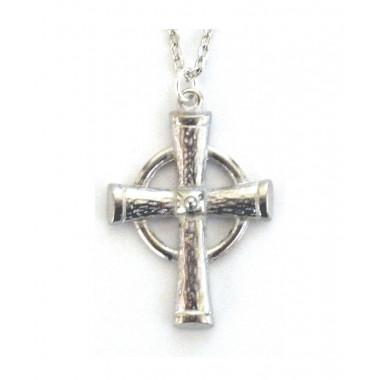 Croix Etain Celtic Ring