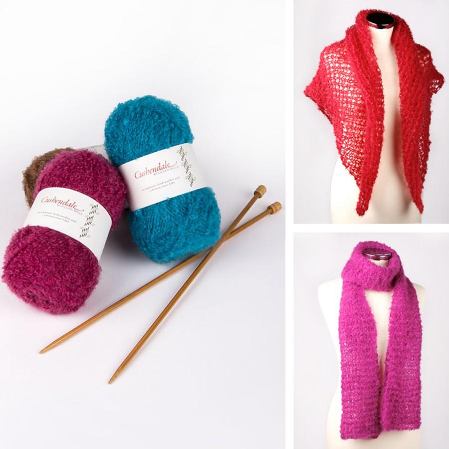 kit tricot etole