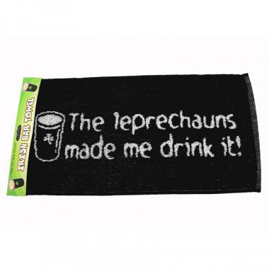 Serviette de bar Leprechauns Made Me Drink It