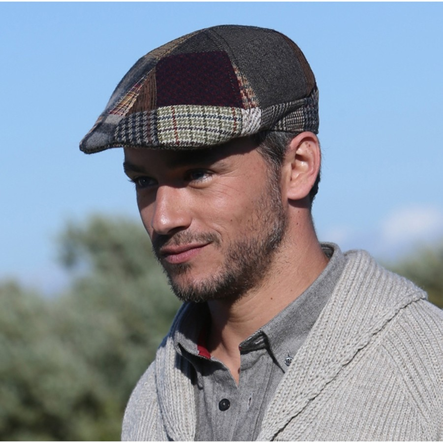 Casquette homme patchwork - Comptoir irlandais tours ...