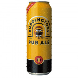 Boddingtons Ale Draught 44cl 3.5'