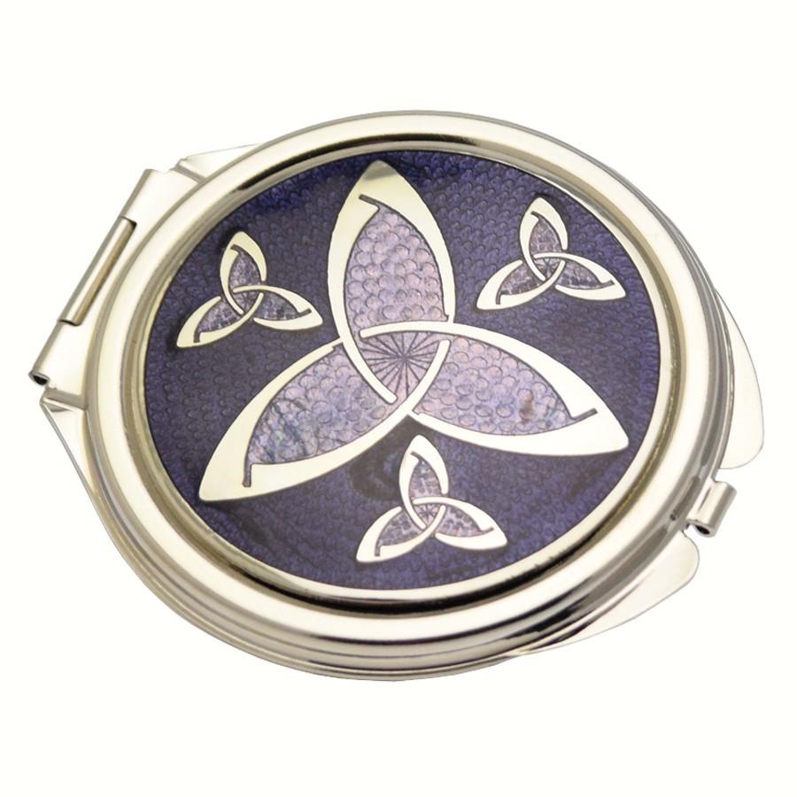 Miroirs de poche celtiques miroirs de sac le comptoir for Miroir de poche