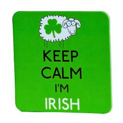 Keep Calm Sheep Coaster
