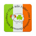 Sheep & Irish flag Coaster