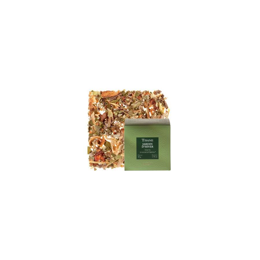 Dammann jardin d 39 hiver herbal tea 25 teabags for Jardin d hiver