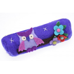 Kusan Owl Pencil Case