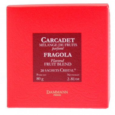 Dammann Carcadet Fragola 20 Sachets 80g
