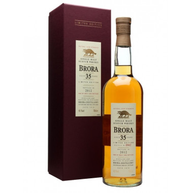 Brora 35 Years Old Special Release 2012 70cl 48.1°