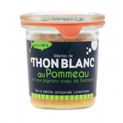 Rillettes de Thon Blanc au Pommeau 105g