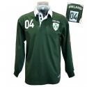 Lansdowne Ireland Green Men's Rugby Polo Shirt