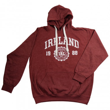 Chiné Sweat Capuche Bordeaux Sweat Ireland hQdxstBrC