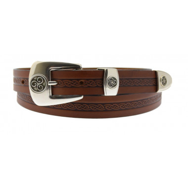 Ceinture Celtique Marron Lee River