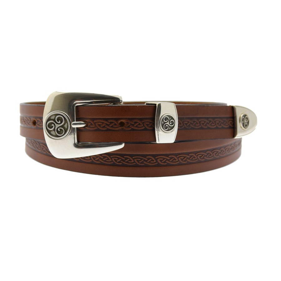 Ceinture Celtique Marron Lee River 9e41b630407