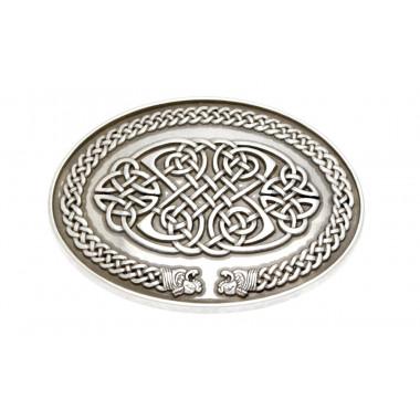 Oval Celtic Belt Buckle