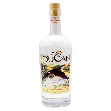 Toucan White Rum Guyana 70cl 50°