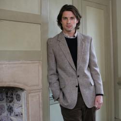 Harris Tweed Beige Barva Jacket