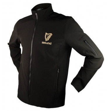 Harp Black Softshell Jacket